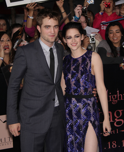 """Twilight Breaking Dawn Part 1"" World Premiere"