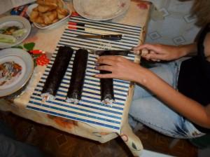 как правильно приготовить суши
