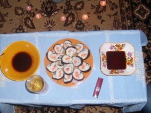 простые рецепты суши